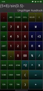 Adaptivecalc Taschenrechner