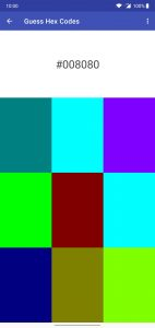 Addi(c)tive Colors - Guess HEX Codes