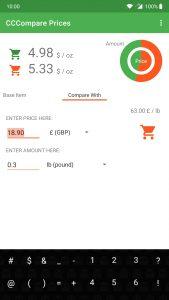 Compare Prices App